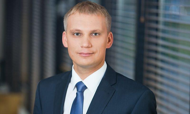 Vilius Juzikis paskirtas SEB banko Verslo bankininkystės tarnybos vadovu. Bendrovės nuotr.