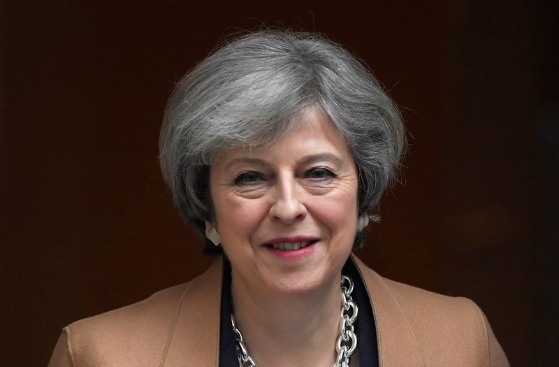 "Theresa May, Jungtinės Karalystės ministrė pirmininkė. Toby Melville (""Reuters"" / ""Scanpix"") nuotr."
