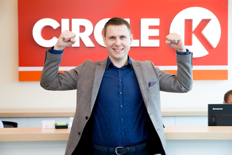 """""""Circle K Lietuva"""" finansų vadovas –apie plėtros planus, struktūrinius pokyčius"""