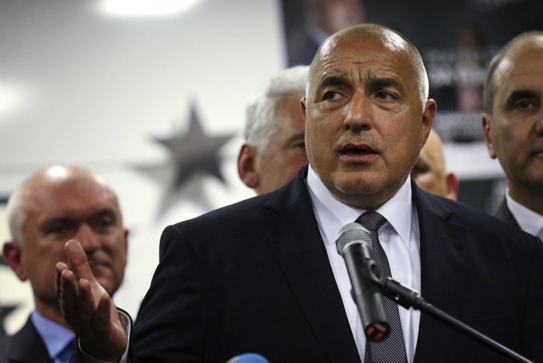 Rinkimus Bulgarijoje laimėjo buvęs premjeras, įveikęs prorusiškus socialistus