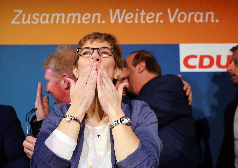 Rinkimai Vokietijoje: Merkel pergalė pristabdė Schulzo mitą
