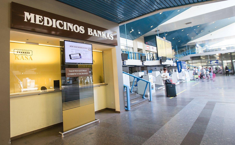 Pajūrio kredito unijos indėlininkai nukreipiami į Medicinos banką