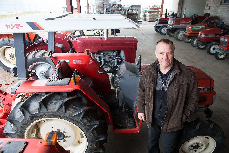 Pradėjo prekiauti naudotais traktoriais – atrado aukso gyslą