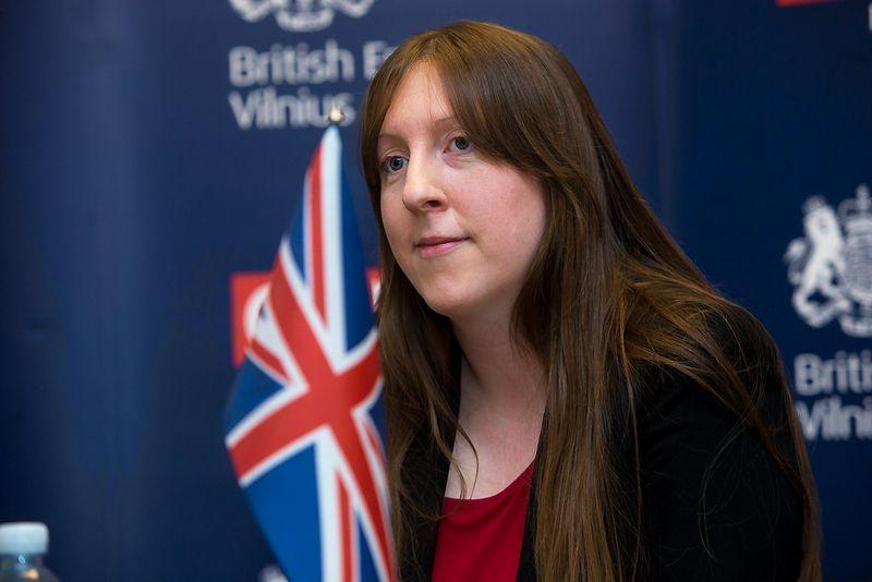 Jungtinės Karalystės ambasadorė Lietuvoje Claire Lawrence. Vladimiro Ivanovo (VŽ) nuotr.
