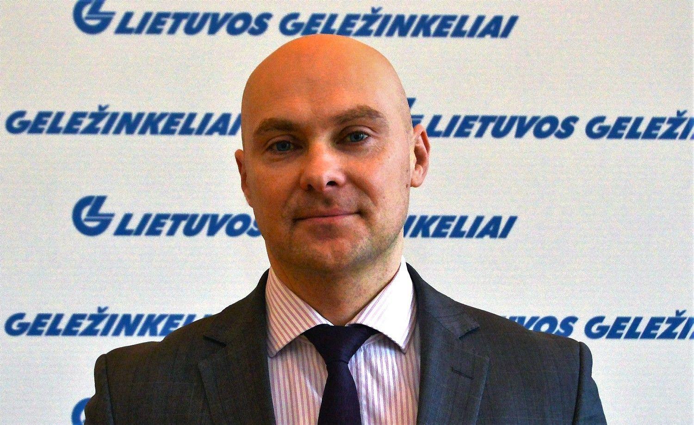 """""""Lietuvos geležinkeliai"""" turi naują Pirkimų centro vadovą"""