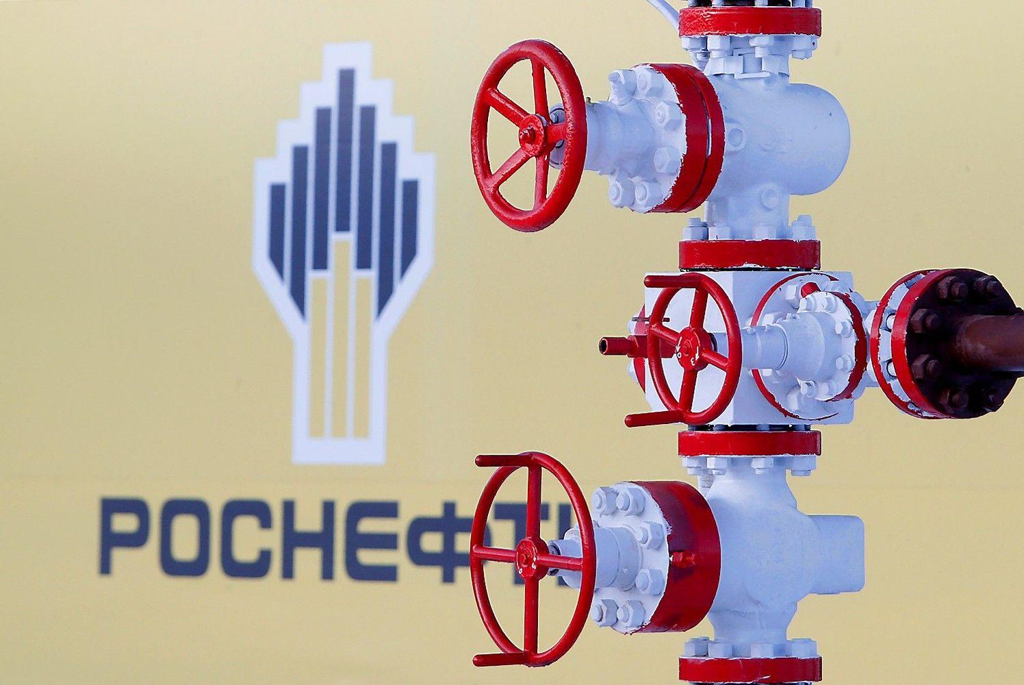 """""""Rosneft"""" nepavyko nusimesti ES sankcijų"""