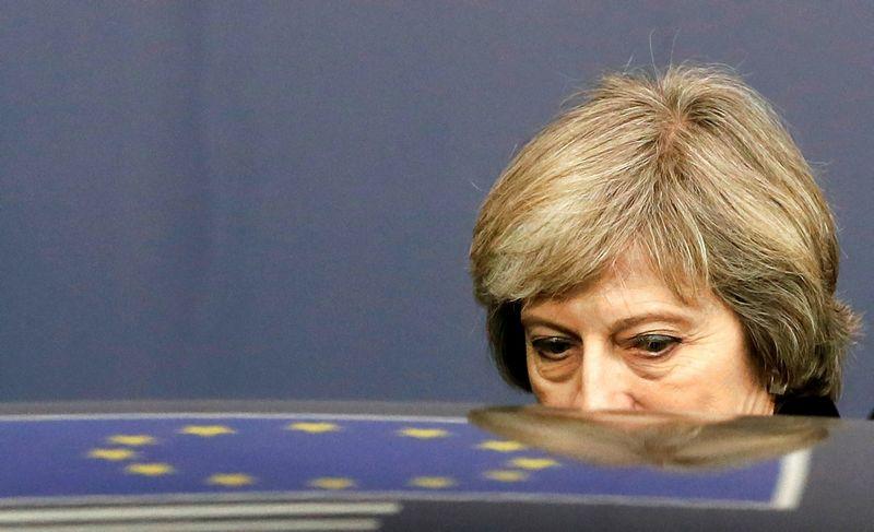 """Theresa May, Jungtinės Karalystės premjerė. Yveso Hermano (""""Reuters"""" / """"Scanpix"""") nuotr."""