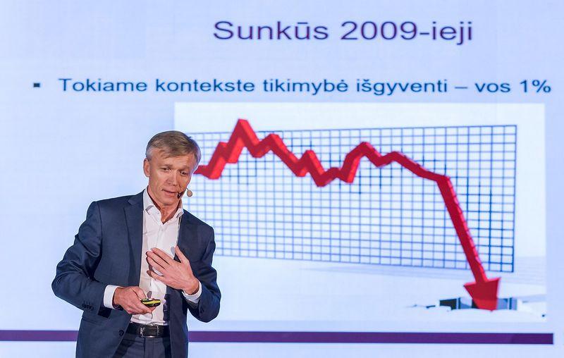 """Arvydas Avulis, """"Hanner"""" akcininkas. Ryčio Galadausko (VŽ) nuotr."""