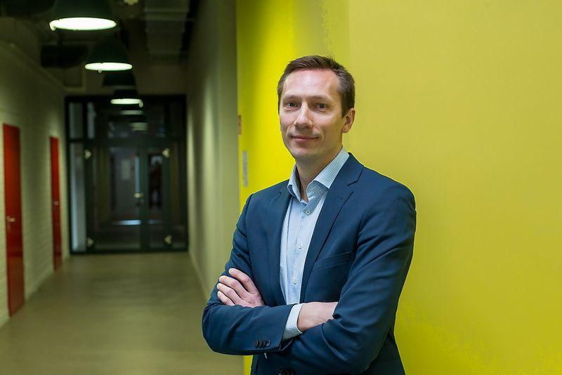 """Mindaugas Lastauskas, """"Media360"""" steigėjas. Vladimiro Ivanovo (VŽ) nuotr."""