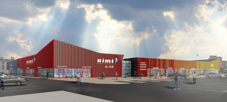 """Capital Mill"" už 3,3 mln. Eur rekonstruos ""Rimi"" parduotuvę"