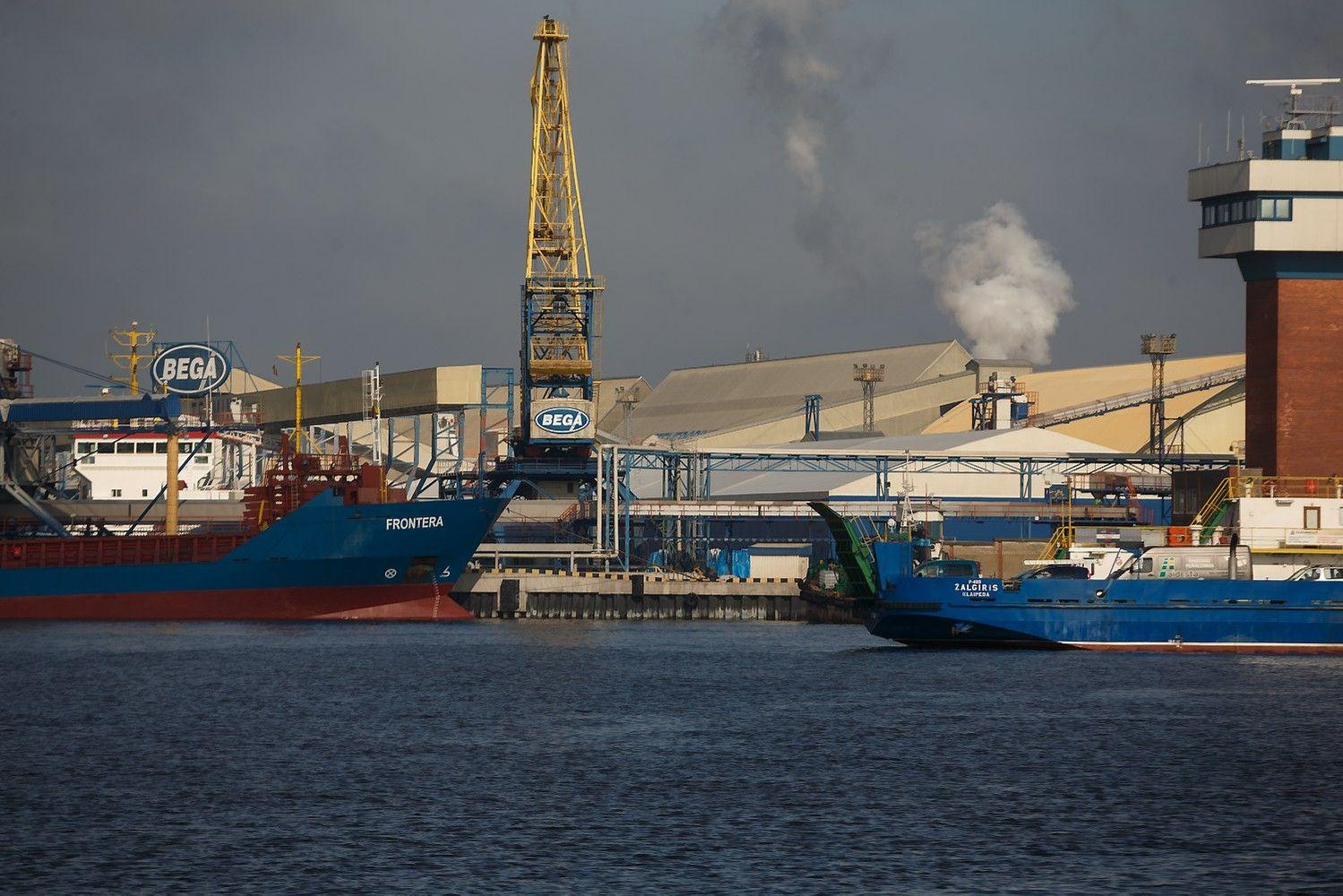 Klaipėdos uosto žemės nuomos kainą nori sieti su bendrovių rezultatais