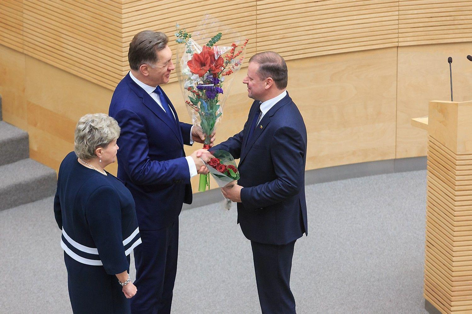 Skvernelis Seime atsiskaitys už Butkevičiaus veiklą