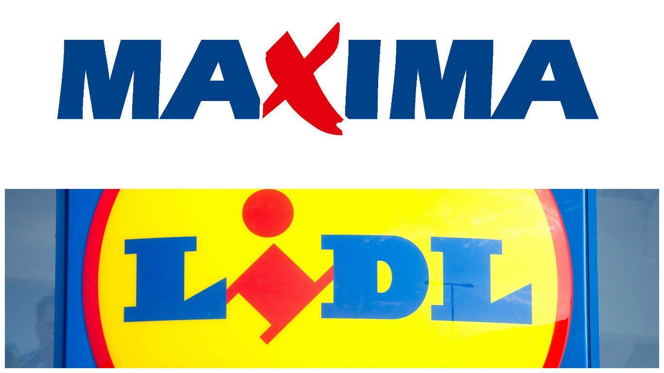 """""""Lidl"""" ir """"Maxima"""" išėjo į karą"""