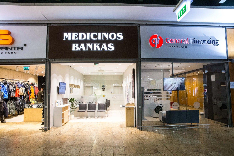 Apkarpytos komisinių sąnaudos išlaikė Medicinos banko pelną