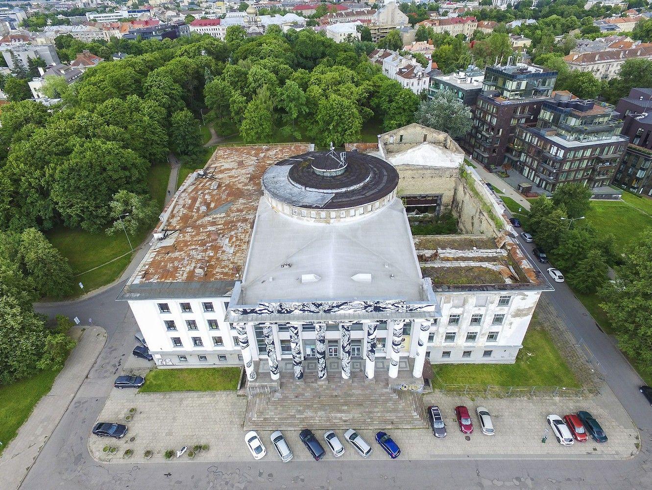 Vilniaus Profsąjungų rūmai bus parduodami varžytynėse