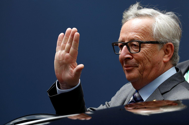 """EK pirmininkas Jeanas Claude'as Junckeris apie Briuselį ir """"Brexit"""""""
