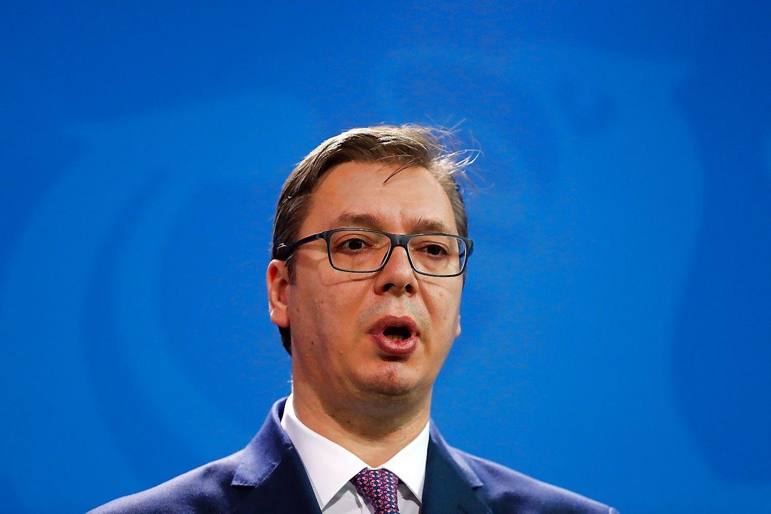Serbijoje vyksta rinkimai, kurie įtvirtins ryškaus šalies lyderio pozicijas