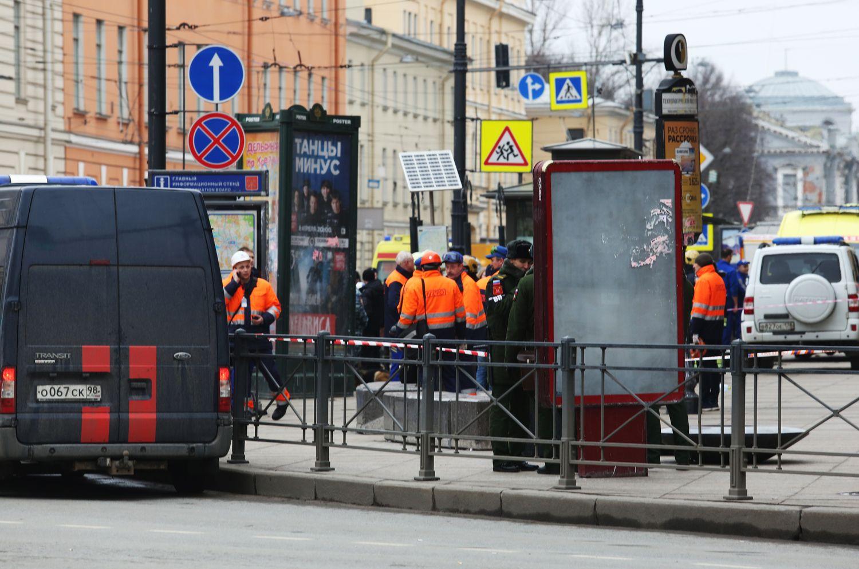 Sprogimas Sankt Peterburgo metro nusinešė jau 14 gyvybių