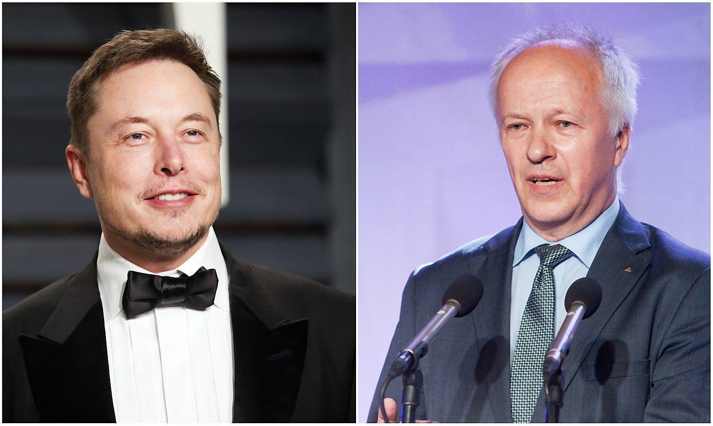 Vladas Lašas susitiks su Elonu Musku