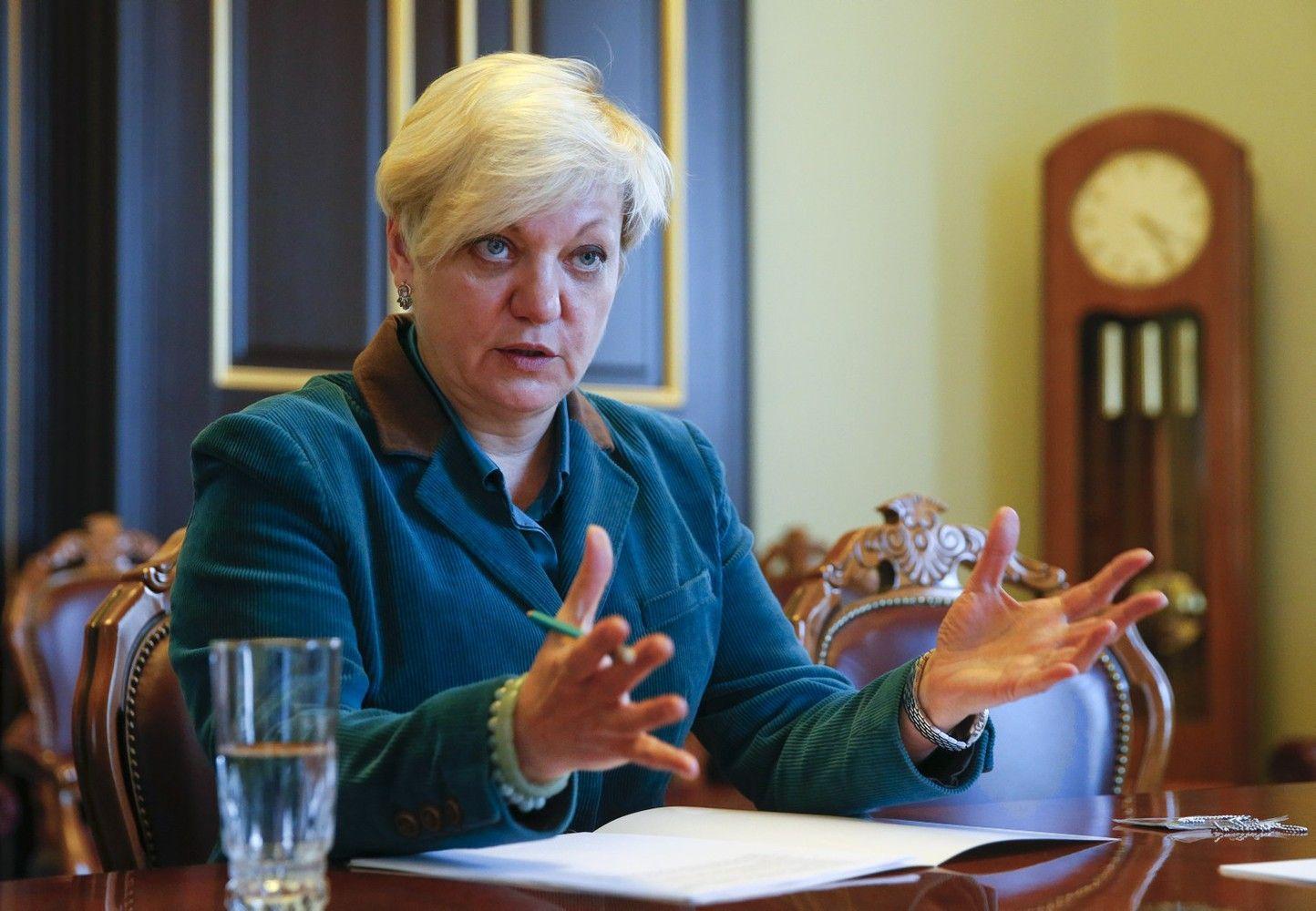Ukrainos centrinio banko vadovai įtariami turto išeikvojimu