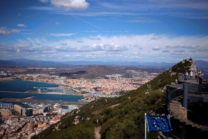 """Gibraltaro panorama. Jono Nazca (""""Reuters"""" / """"Scanpix"""") nuotr."""