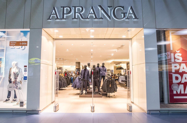 """""""Apranga"""" ketvirčio apyvartą didino 8,6%"""