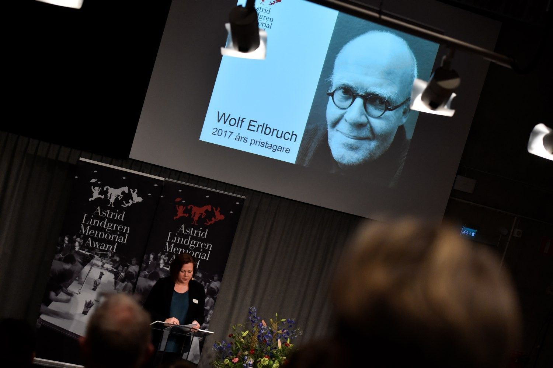Paskirta Astridos Lindgren premija
