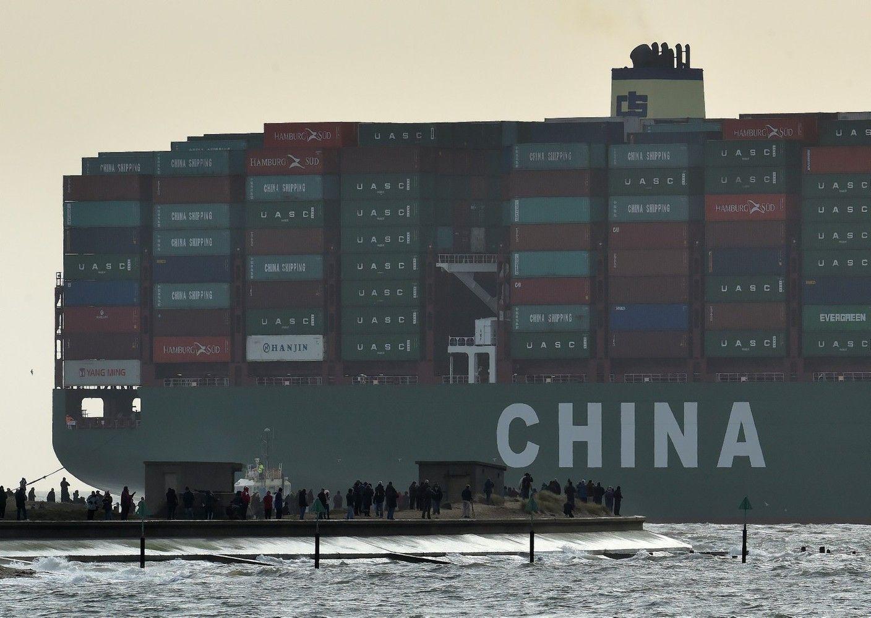 Trumpas ketina paspausti Kiniją