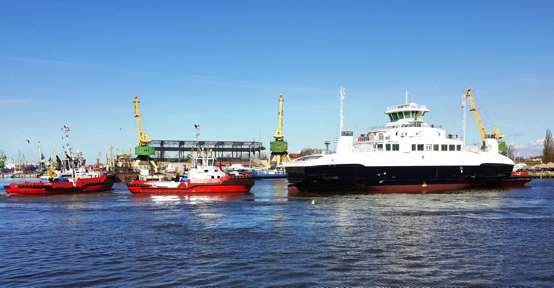 Klaipėdos laivų statytojai norvegams baigė statyti naują keltą
