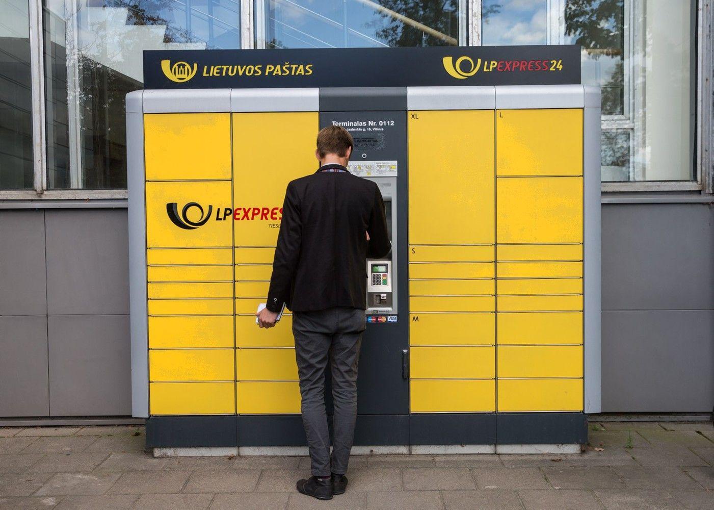 """""""LP Express"""" plečiasi: šiemetįrengs keliasdešimt naujų terminalų"""