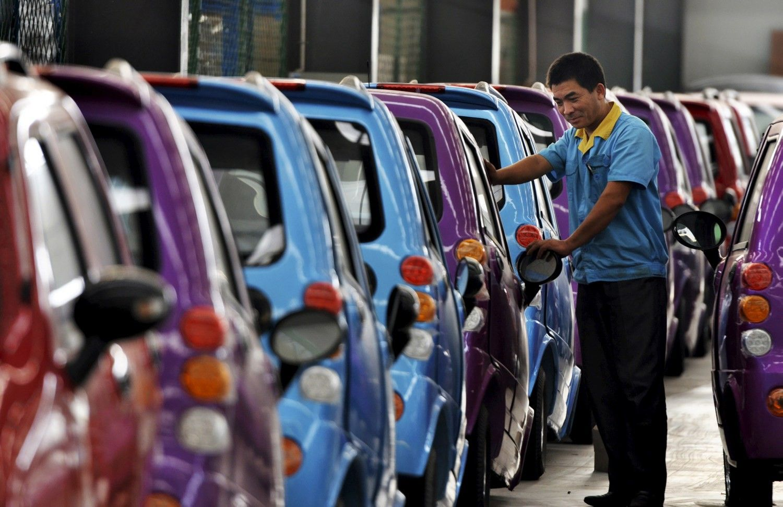 JAV norėtų prisibelsti į Kinijos automobilių rinką