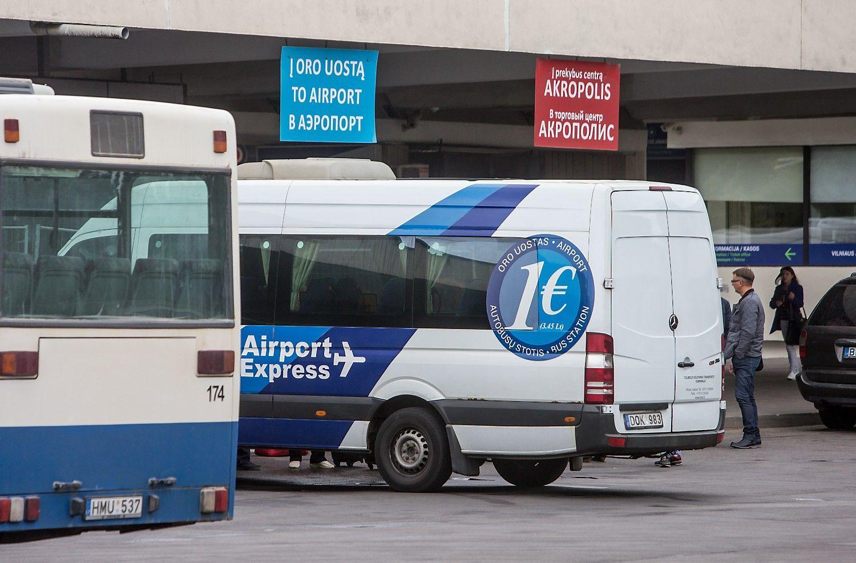 """Iš Vilniaus oro uosto į Kauną keleivius vežti nori """"Toks"""" ir """"Ollex"""""""