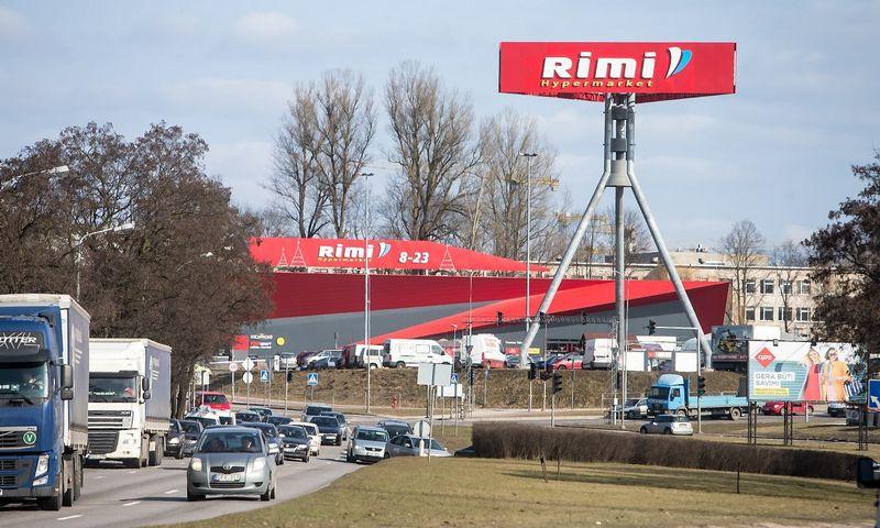 """Rimi Hypermarket"" Vilniuje, Linkmenų gatvėje. Juditos Grigelytės (VŽ) nuotr."