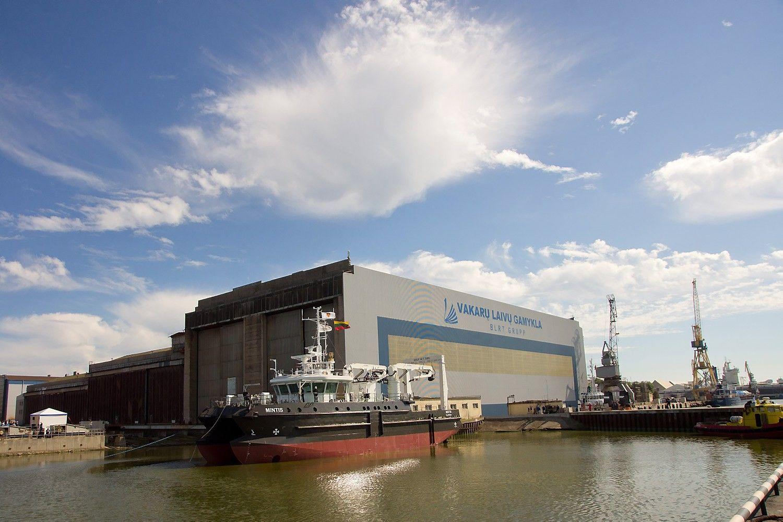 Klaipėdos laivų statyklos teritorijoje įsikūrusioje įmonėje sužaloti darbininkai