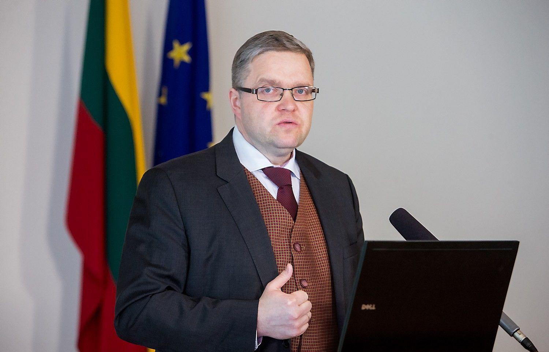 """Vasiliauskas: europinė """"blogojo"""" bankų turto įmonė nėra išeitis"""