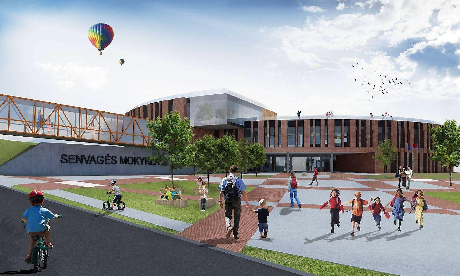 Klaipėdoje už 6 mln. Eur bus statoma nauja mokykla