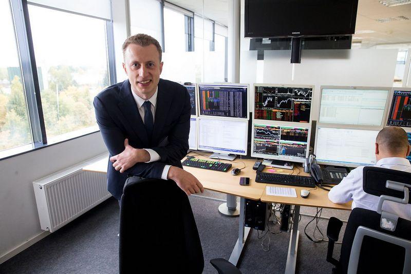 Tadas Peciukevičius, AB SEB bankas Finansų maklerio skyriaus vadovas. Vladimiro Ivanovo (VŽ) nuotr.