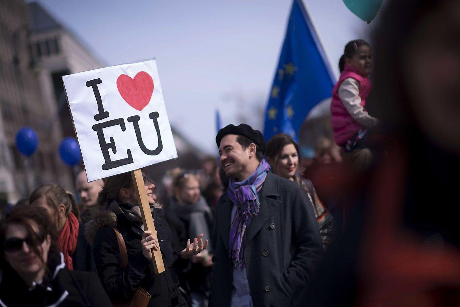 Europos Sąjunga: viskas tik prasideda