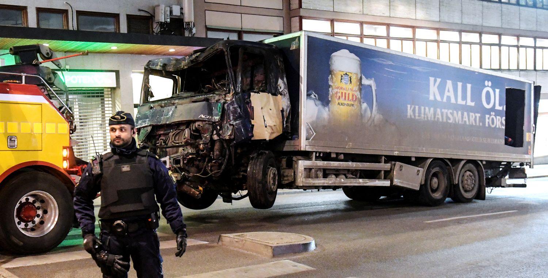 Įtariamasis ataka Stokholme buvo žinomas dėl kraštutinių pažiūrų
