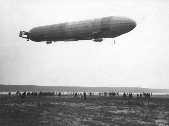 Aviacijos istorija: audringa dirižablio jaunystė