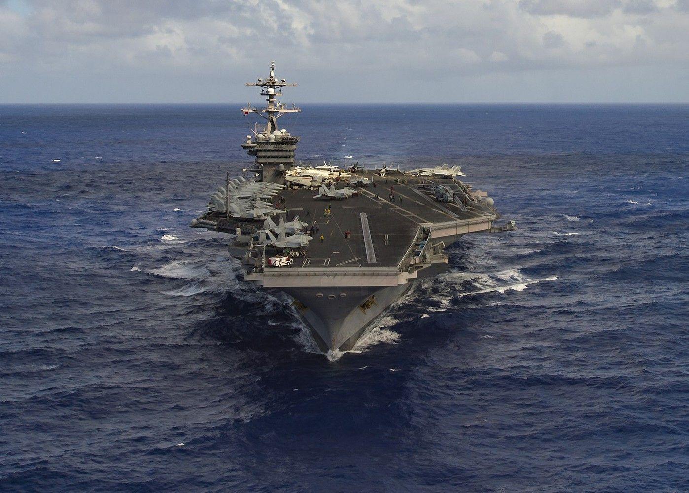 Į Korėjos pusiasalį JAV siunčia karo laivus