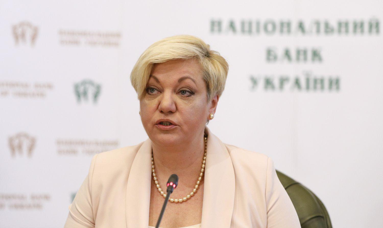 Atsistatydina Ukrainos centrinio banko vadovė