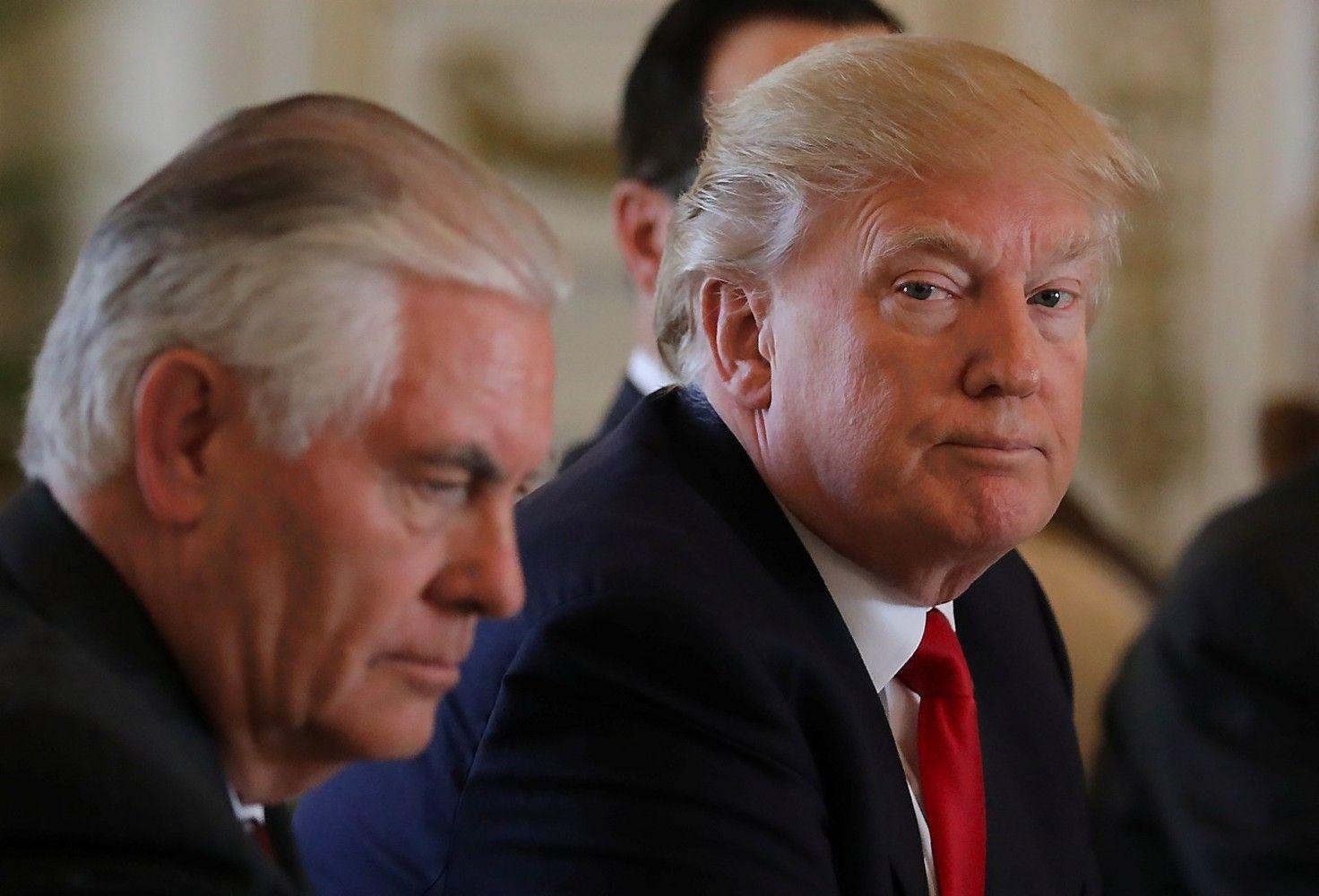 Rinkimų pažadus Trumpas keičia į respublikonišką užsienio politiką