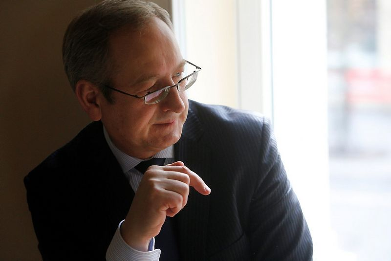 Vytautas Getautis, KTU chemijos tyrėjų grupės vadovas.  Vladimiro Ivanovo (VŽ) nuotr.