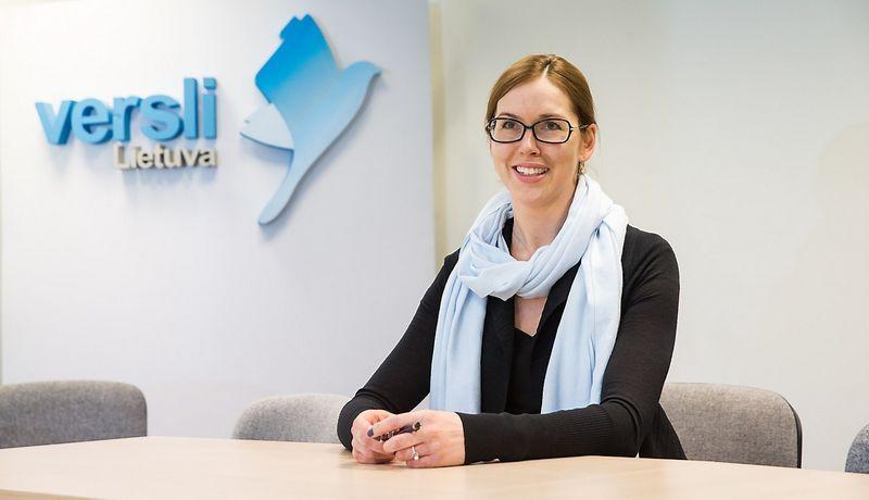 """Rūta Pentiokinaitė, VšĮ """"Versli Lietuva"""" generalinė direktorė. Juditos Grigelytės (VŽ) nuotr."""