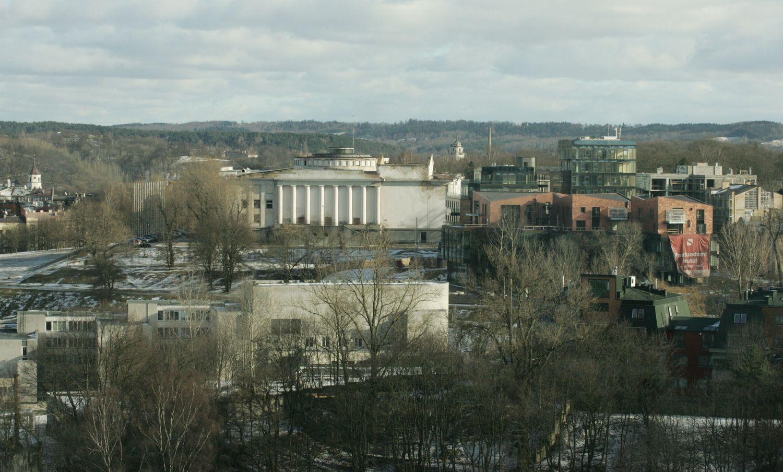 Vilniaus savivaldybė svarsto galimybę įsigyti Profsąjungų rūmus