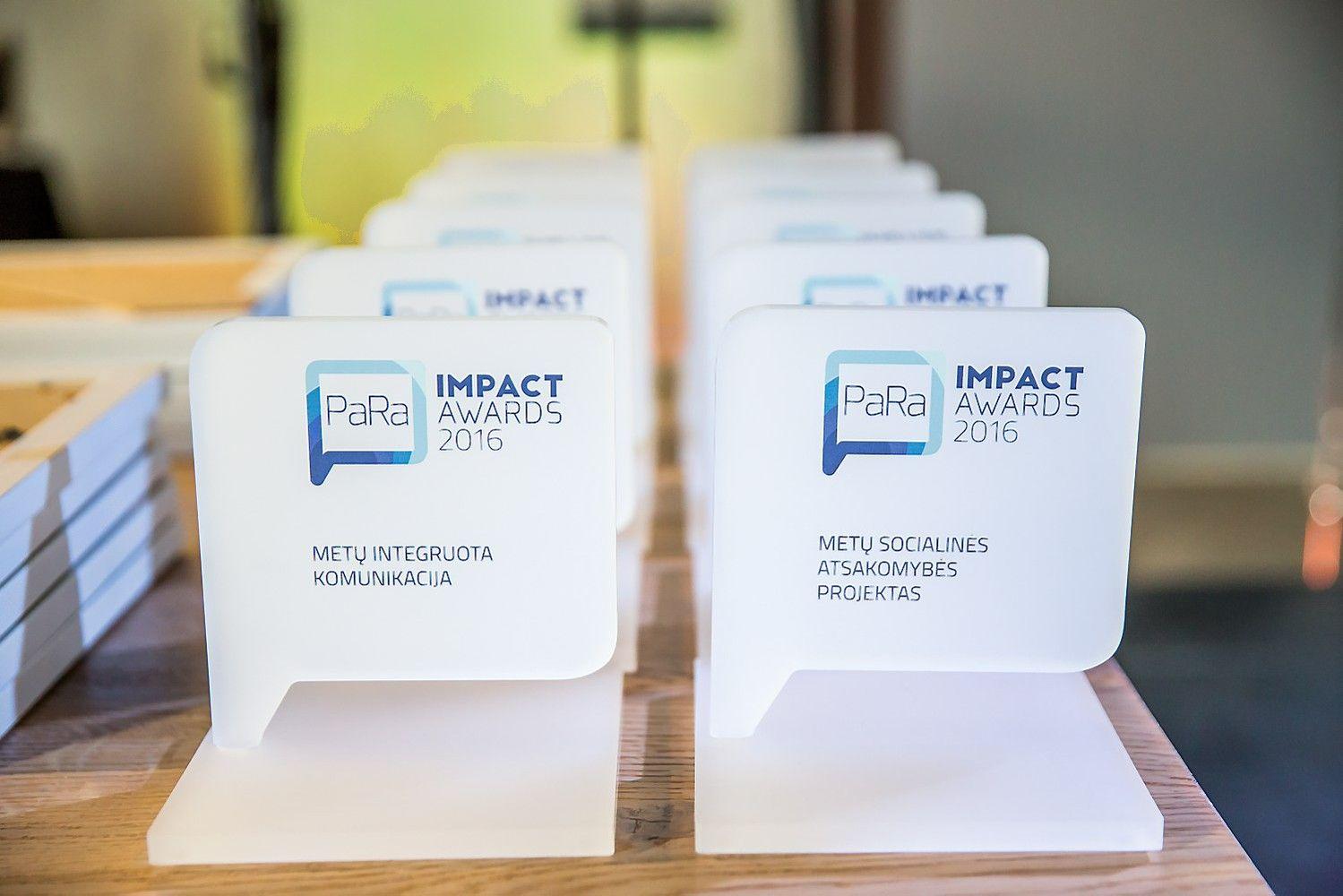 """""""PR Impact Awards 2017"""" – rekordinis paraiškų skaičius"""