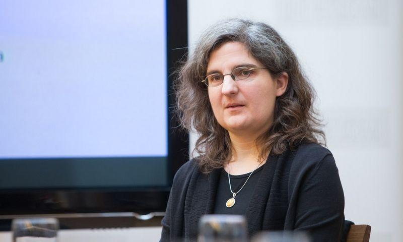 Prof. Ainė Ramonaitė, politologė, Vilniaus universiteto Tarptautinių santykių ir politikos mokslų instituto dėstytoja. Juditos Grigelytės (VŽ) nuotr.