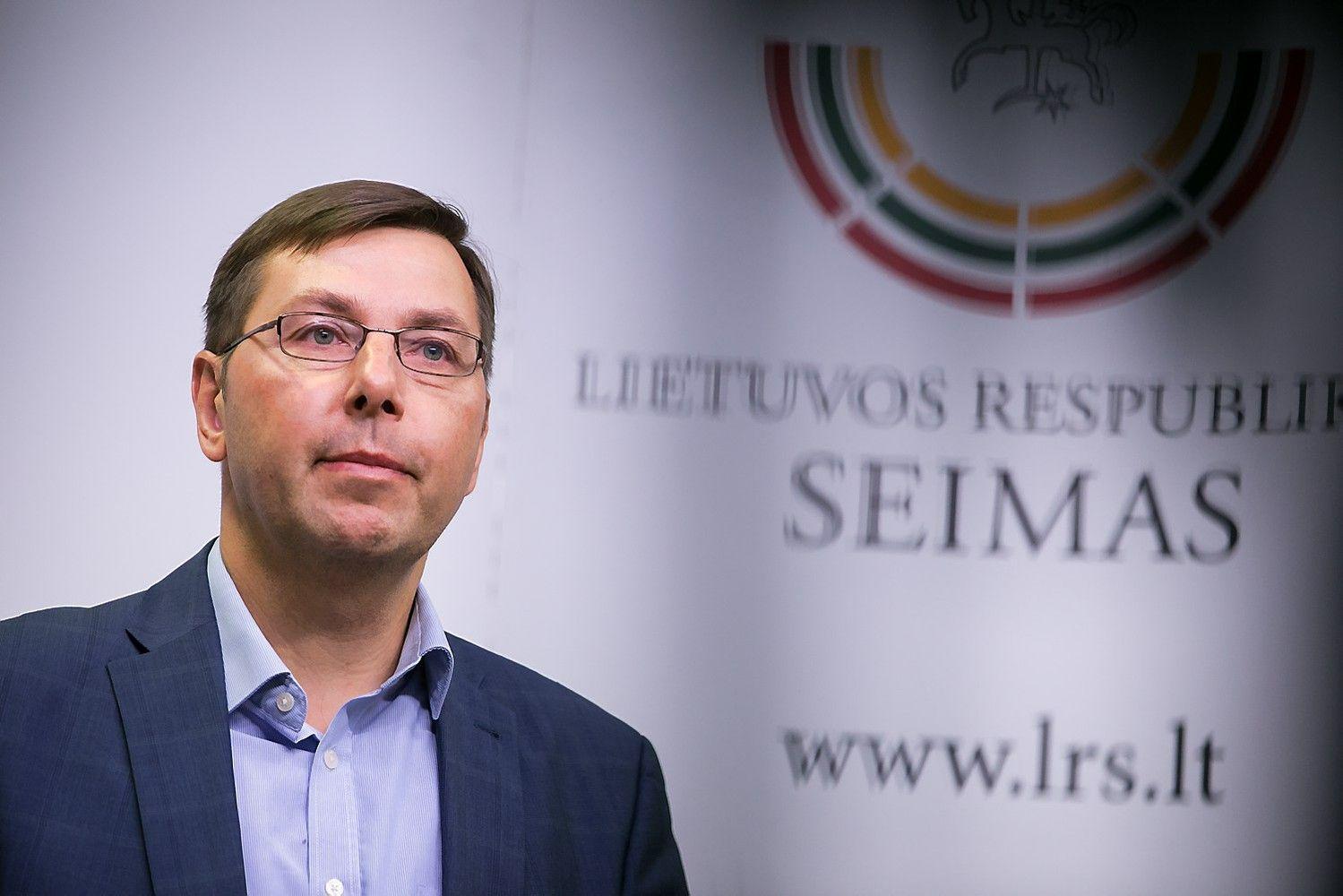 Steponavičius neatsisako Seimo nario mandato