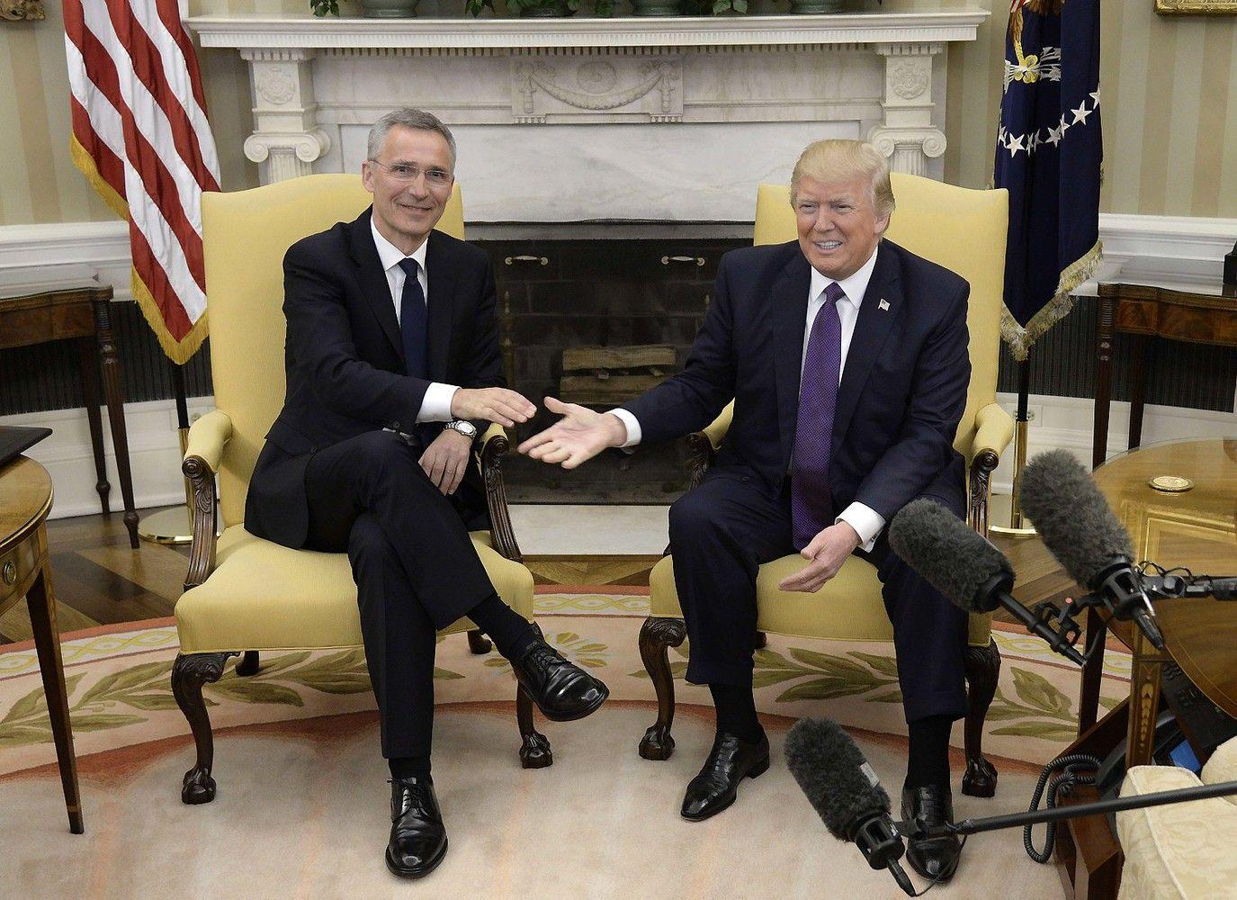Trumpui NATO nebeatrodo pasenusi